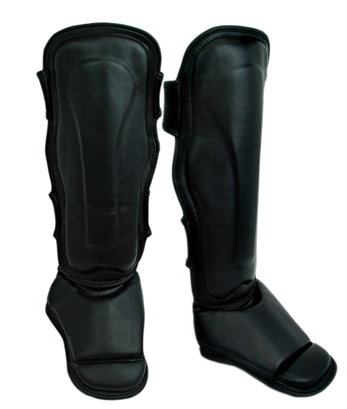 Shin and Instep Guard, Leather, Muay Thai