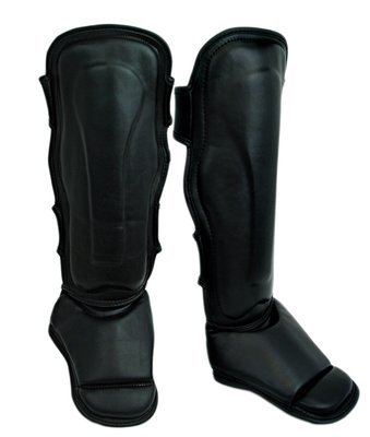 Shin and Instep Guard, MMA, Synthetic Leather