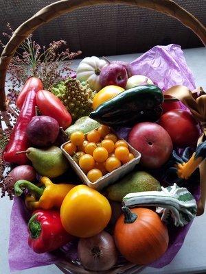 Farm Bounty Gift Basket Large
