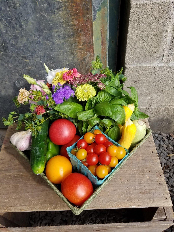 Farm Bounty Gift Basket
