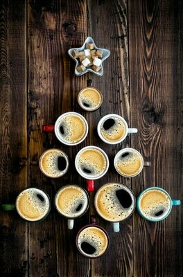 Deluxe 12 Coffees of Christmas Sampler