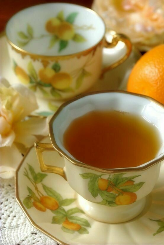 Orange Blossom Spice Flavored Tea