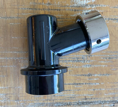 Premium Ball Lock Disconnect (Black Liquid) With Integrated Tap Shank & Collar