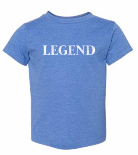 LEGEND - KIDS - heather blue