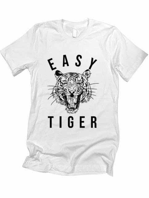 Tiger Tee - white
