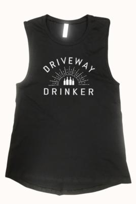 DRIVEWAY DRINKER tank | black