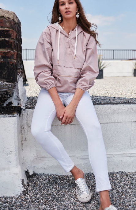 Cozy Windbreaker | Dusty Pink