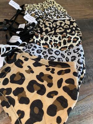 Basic Leopard (Adjustable Ear) Masks