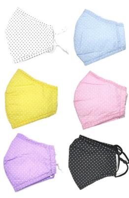 Little Mini Polka Dots (Adjustable Ear) Masks