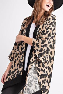 Leopard Kimono Cardi
