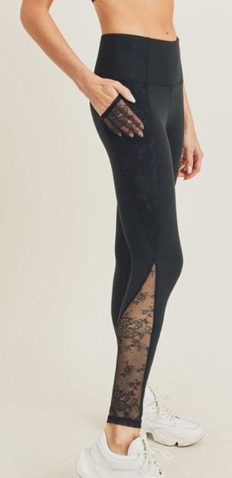 Floral Lace Legging