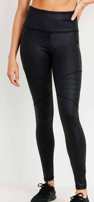 PERFECTION LEGGINGS | Moto Faux Leather