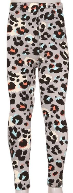 KIDS SUPER SOFT LEGGINGS bright leopard
