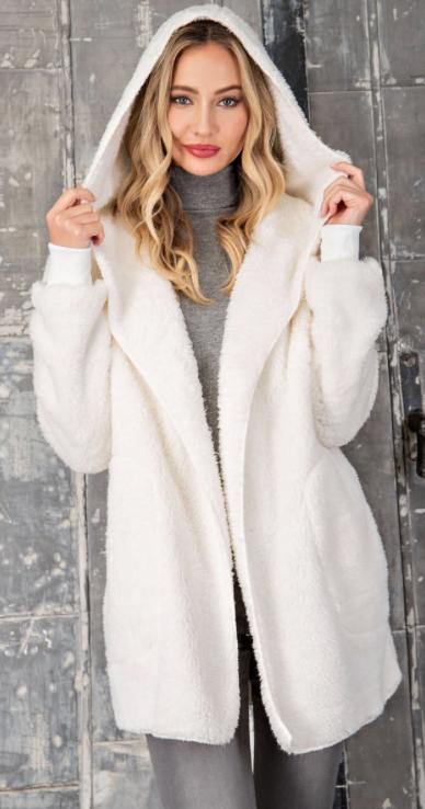 Furry Coatigan