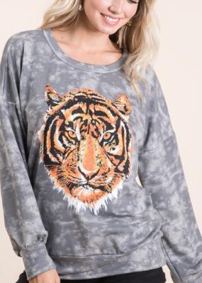 Tie Dye Tiger