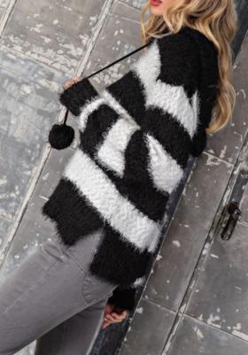 Pom Pom Sweater | Black