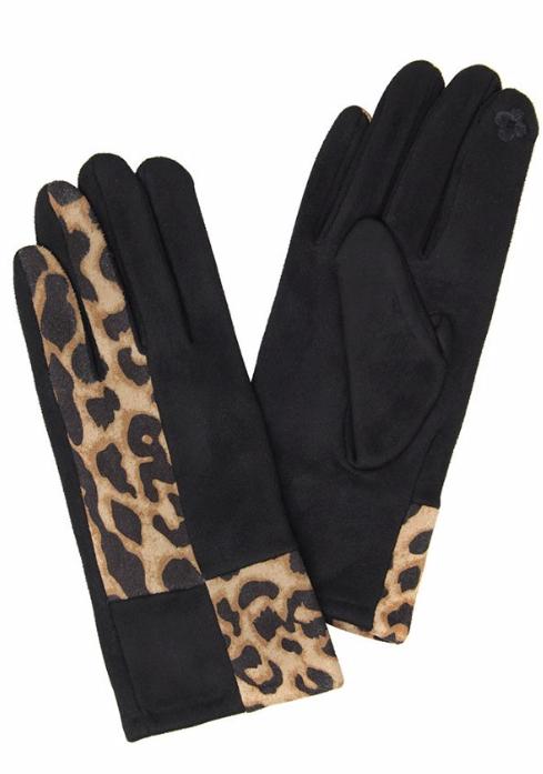 Smart Leopard Gloves