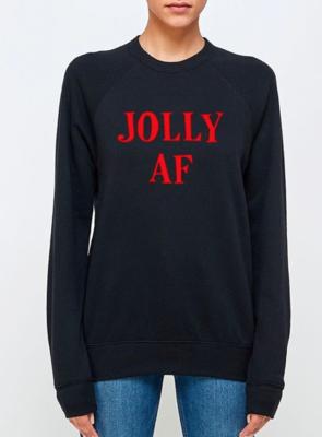 JOLLY AF Crew | Black