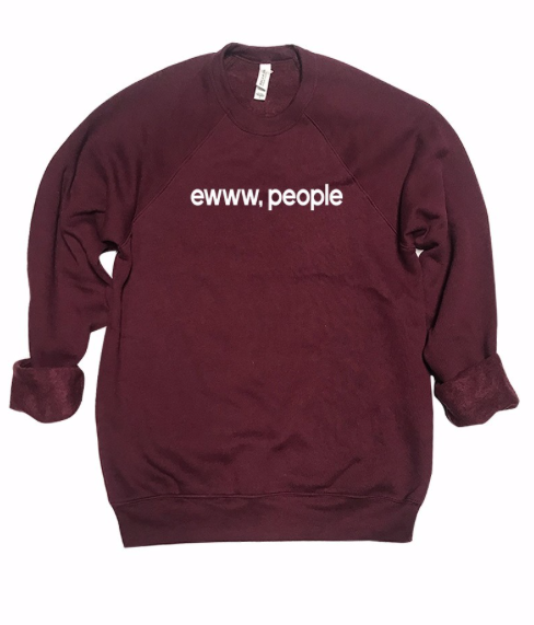 ewww, people Crew | Burgundy