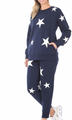 ALL STAR LOUNGEWEAR | Navy