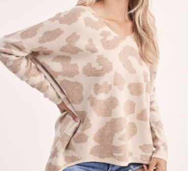 Savannah Sweater   Taupe