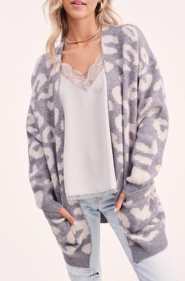 Cuddle Me Leopard Cardi