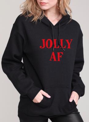 JOLLY AF Hoodie | Black