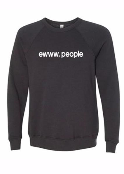 ewww, people Crew | Dark Grey