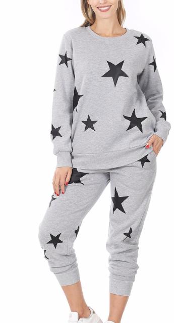 ALL STAR LOUNGEWEAR | heather grey