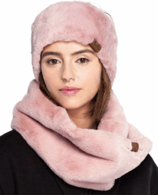 Faux Fur Head Band (ear warmer)