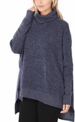 Cowl Poncho Sweater