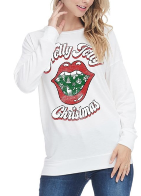 Holly Jolly Christmas | White