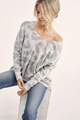 Savannah Sweater   Grey