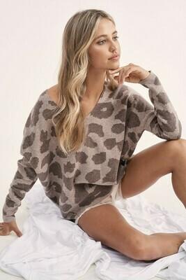 Savannah Sweater   Mocha