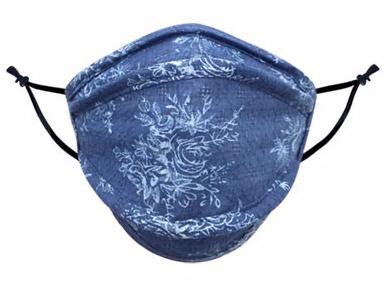 Soft Blue Spring Mask