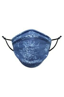 Soft Blue Spring - Kids Mask