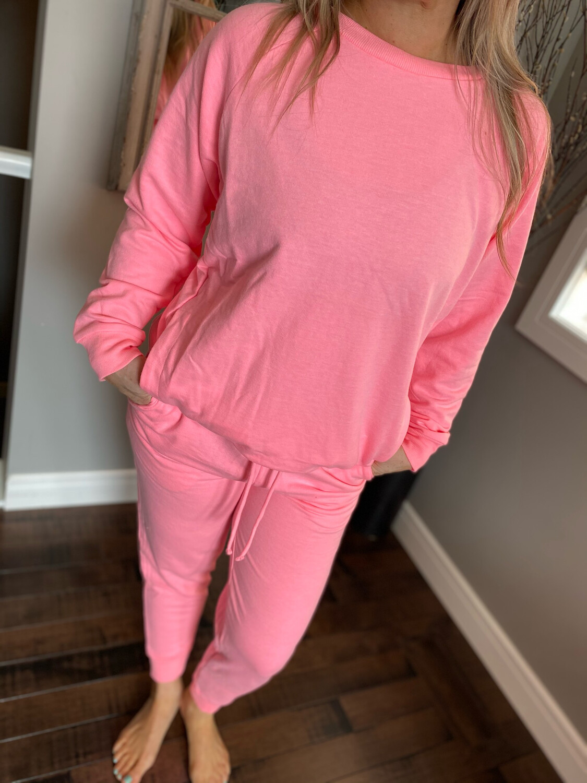 Sunday Jogger Set  | Candy Pink