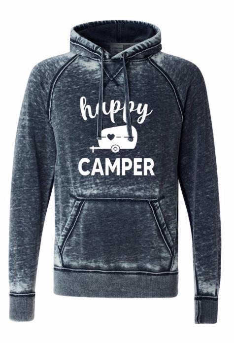 happy camper | vintage navy