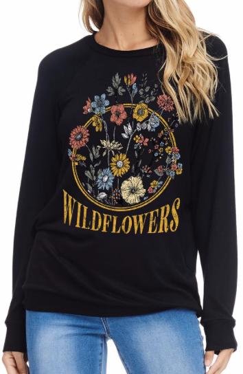 wildflowers | black