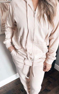 On The Go Jogger Set  | Dusty Pink