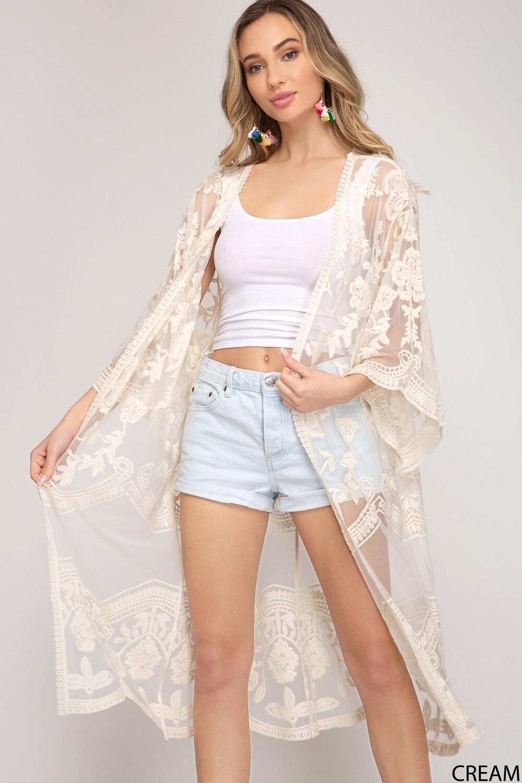 Lacey Kimono Cardi