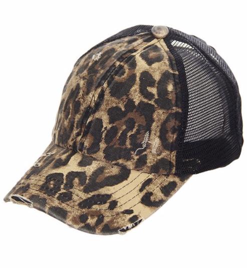 LADIES Leopard | criss cross cap