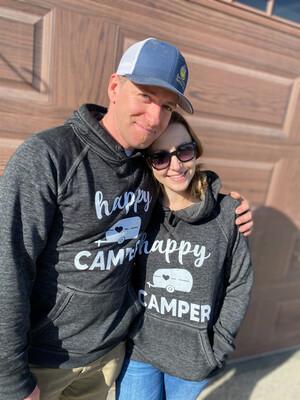 happy camper | vintage black