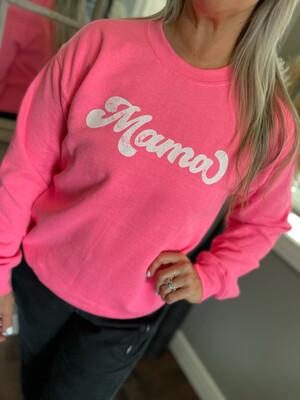 Mama | Bright Pink Crew