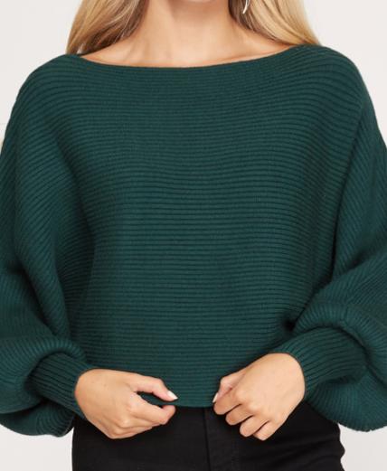 Stella Sweater | Emerald Green