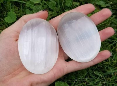Selenite Soothing Stones