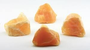 Orange Calcite Raw Energy Stone