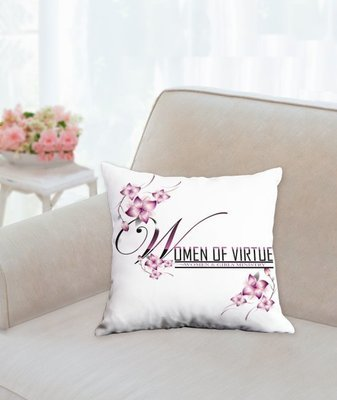 Women of Virtue Prayer Pillow