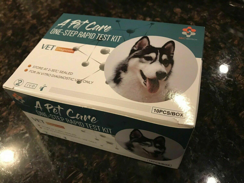 10 Pcs Dog or Cat GiardIa rapid home Tests.