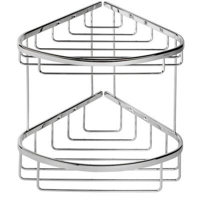 GEESA Basket twin shower caddy